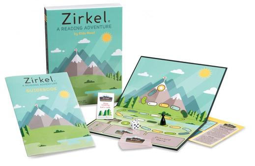 Zirkel - A Reading Adventure Game produced by Kids Read, Loveland Colorado